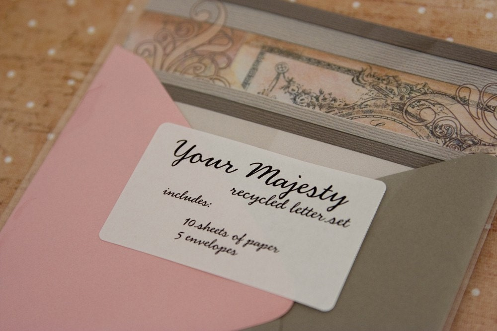 Your Majesty - A5 Letter Set