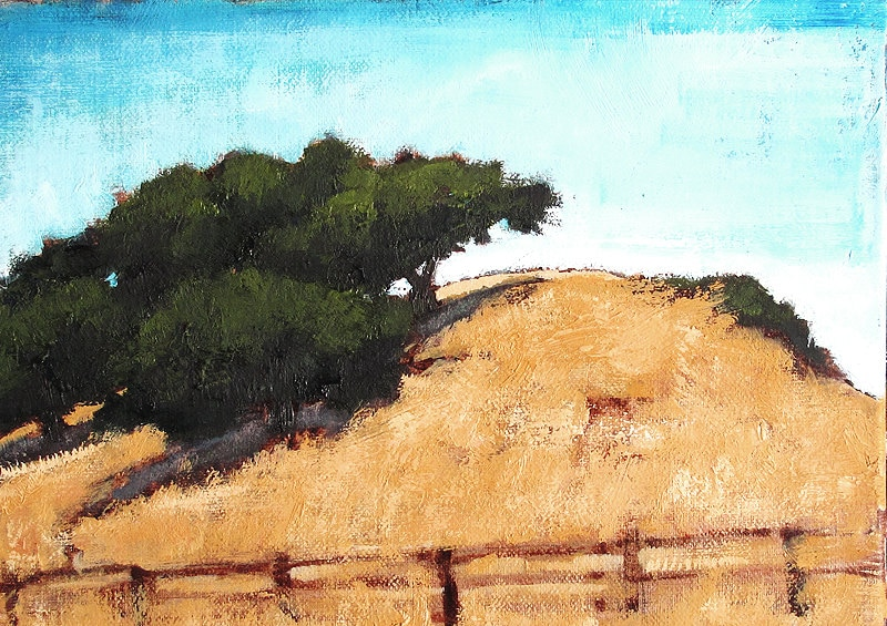Santa Ynez Valley California Landscape Painting