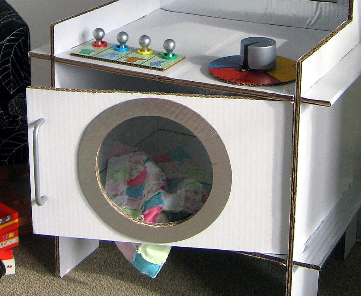 Детская стиральная машина своими руками 36