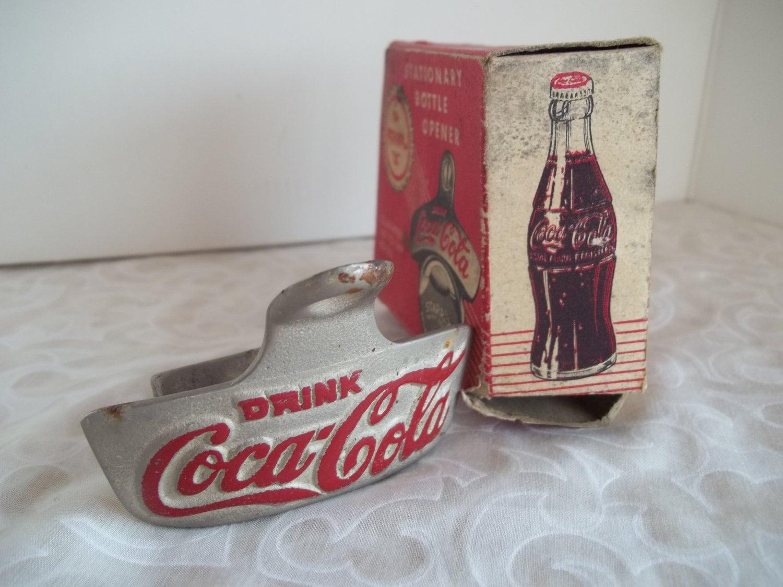 items similar to vintage coca cola starr x newport news vintage bottle opener. Black Bedroom Furniture Sets. Home Design Ideas