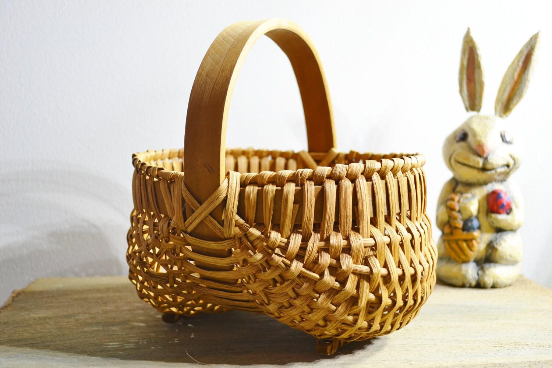 Vintage Buttocks Basket