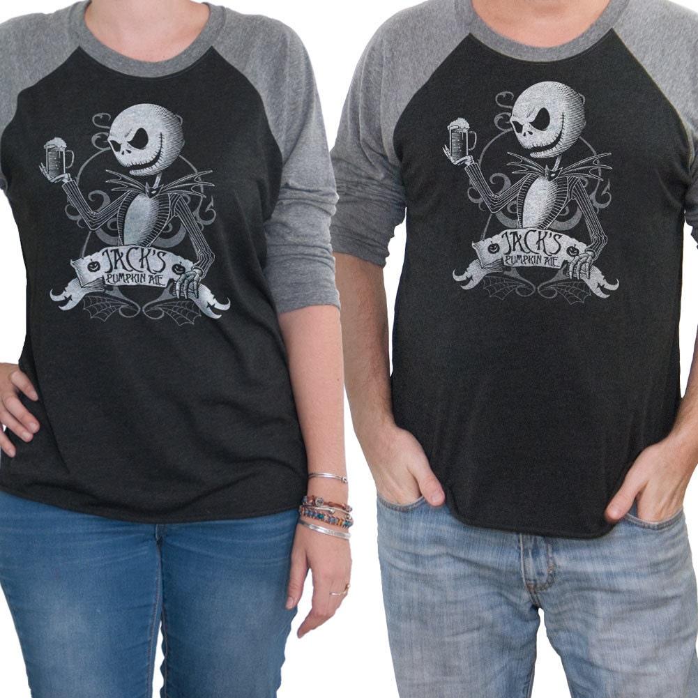 Nightmare Before Christmas Long Sleeve Beer Shirt | eBay