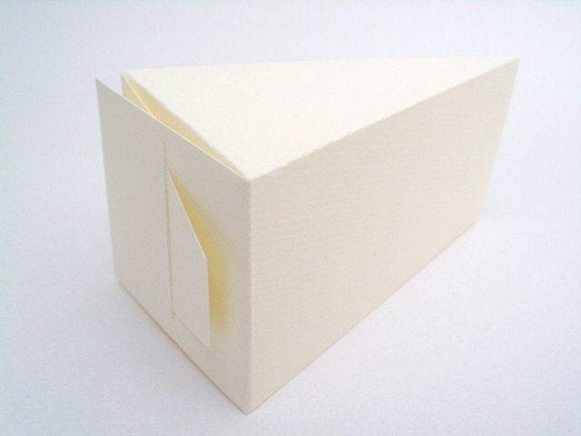 50 Large Ivory White Wedding Favor Slice Cake Boxes 220 Gsm On Etsy