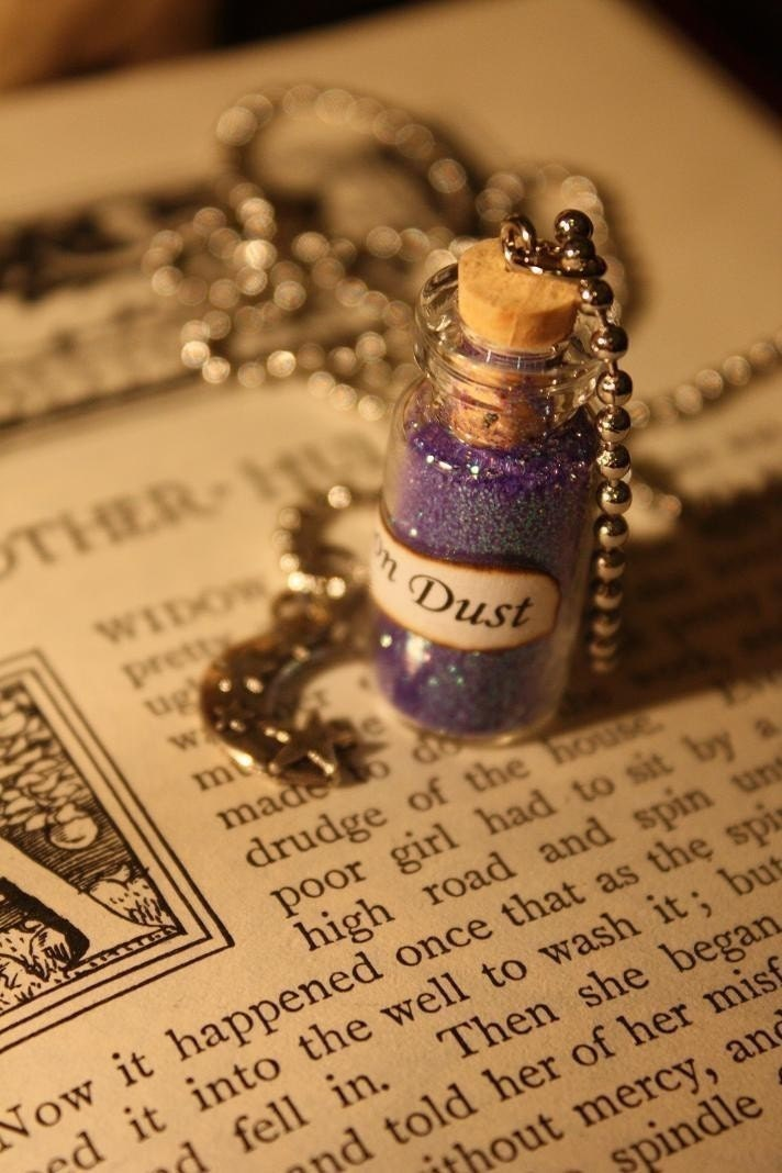 Moon Dust Vial Necklace