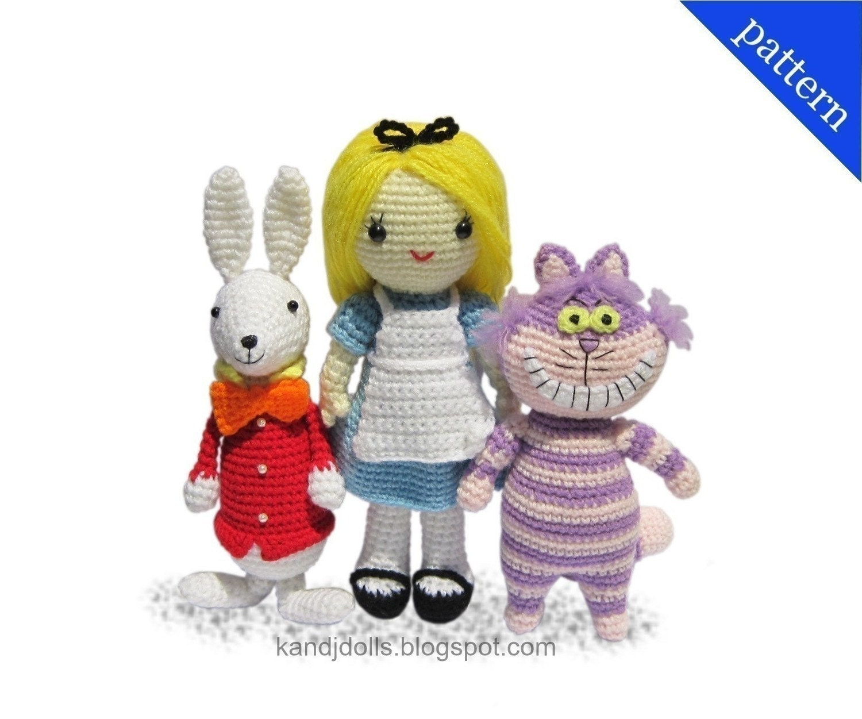 Cheshire Cat Amigurumi : Alice no Pais das Maravilhas -Amigurumi, Dolls, Duendes ...