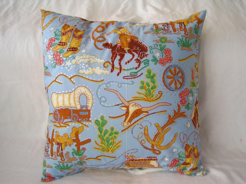 Rhinestone Cowboy pillow