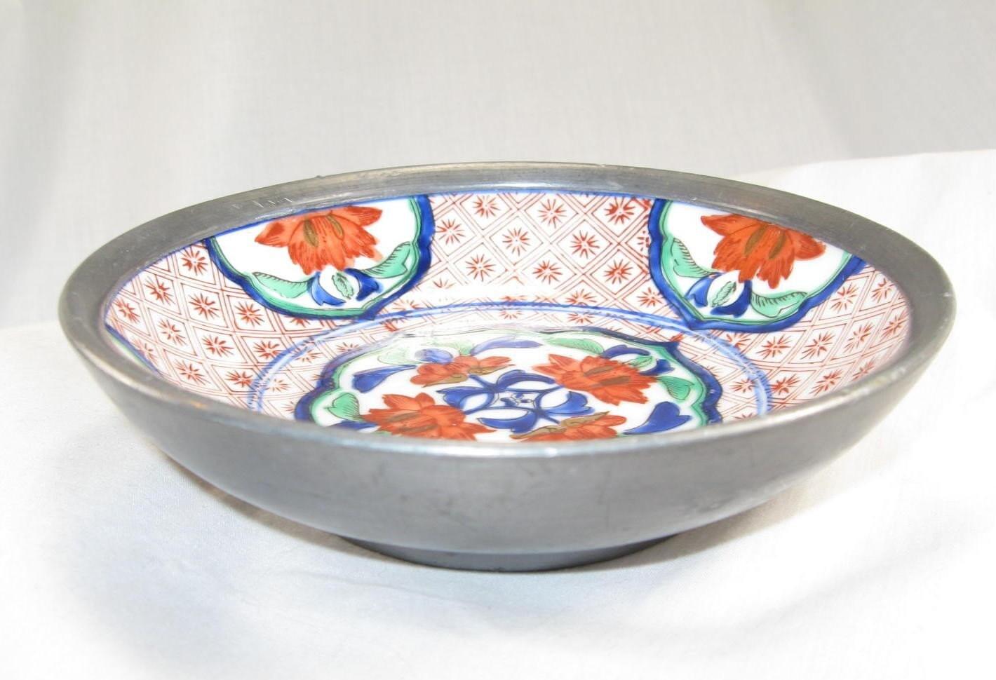 Vintage Acf Japanese Porcelain Ware Bowl Hand By Jenniesjunque