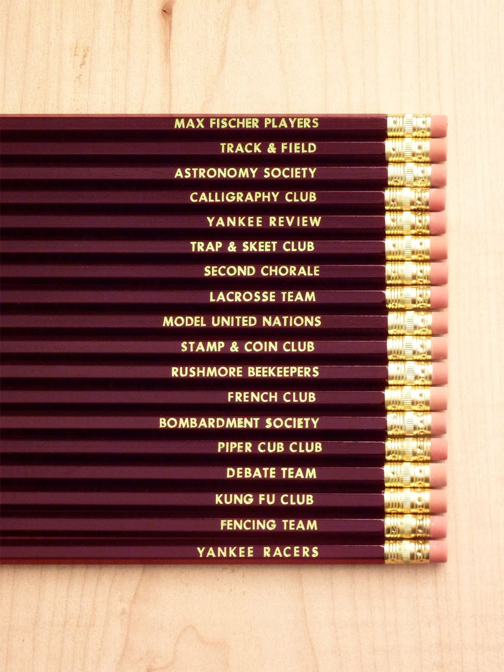 PRE-ORDER: Rushmore Pencils (Set of 18)