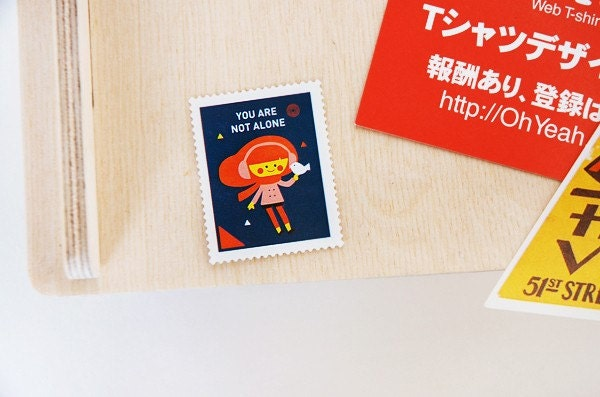 Palette stamp sticker