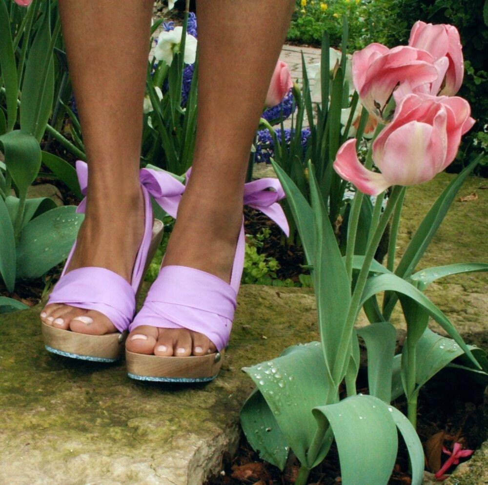 اندازه 8 -- بالا افرا Mohop نقطه کفش دستباف