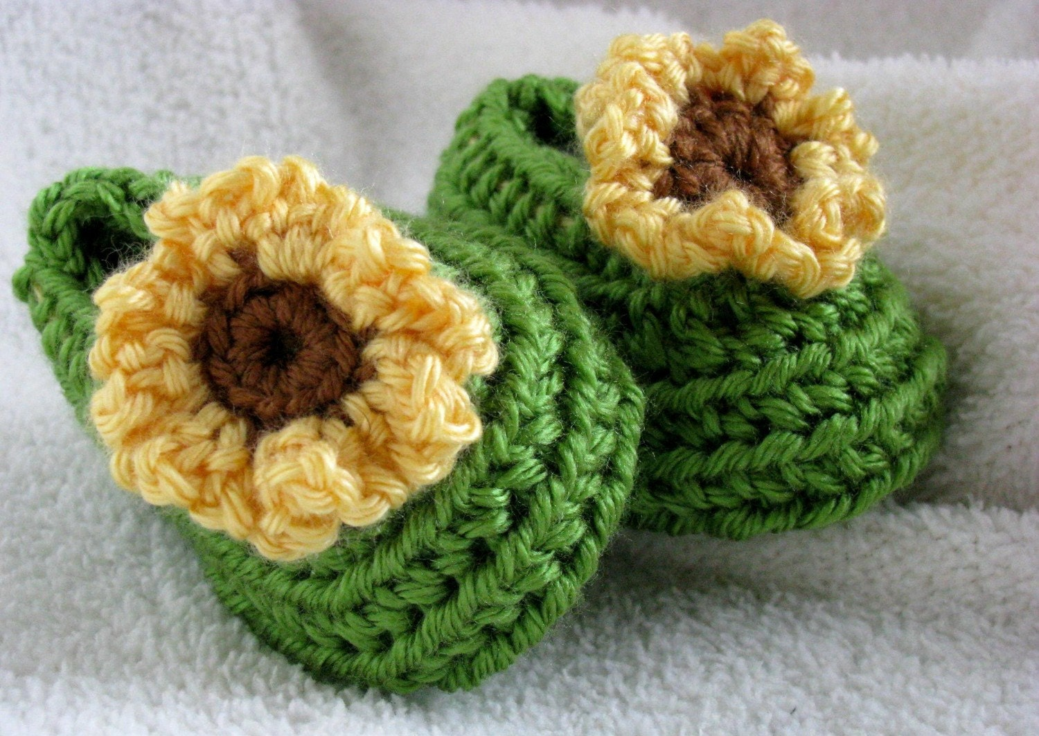 Sunflower Ballet Slippers