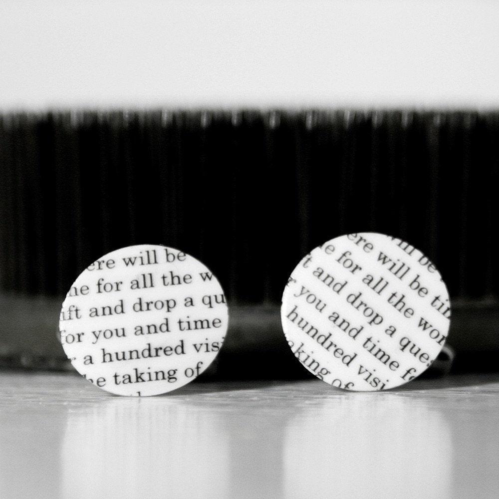 Poetry Cufflinks