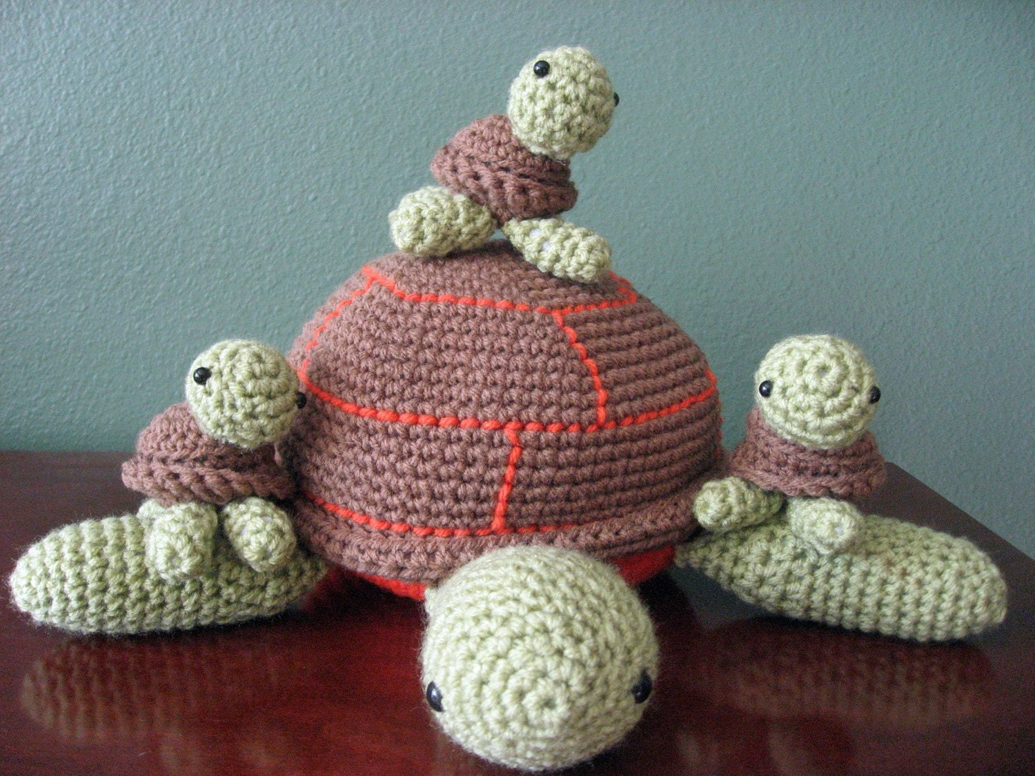 Amigurumi Turtle Family