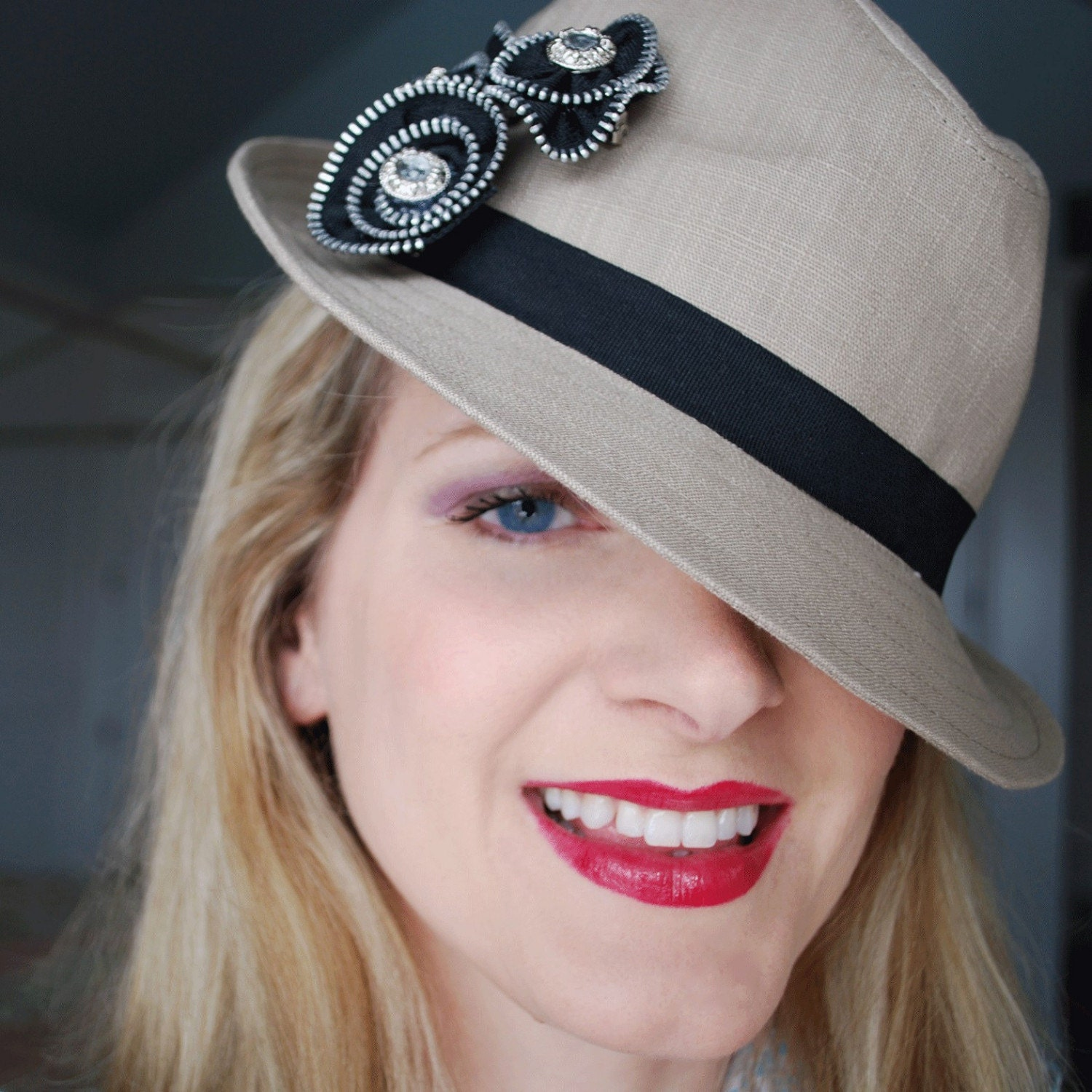 French hat and multipurpose brooches