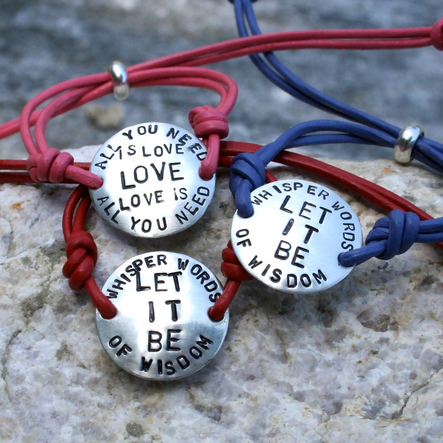 Let It Be - Charms of Faith Bracelet - CharmsofFaith