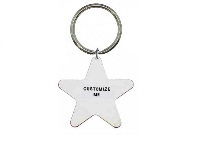 Custom Keyring Personalised Keyring Hand Stamped Keyring Custom Keychain Personalized Keychain Customisable Keyring