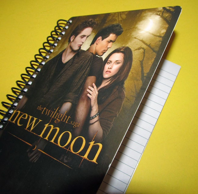 Twilight Notebook (Eco-Friendly) New Moon