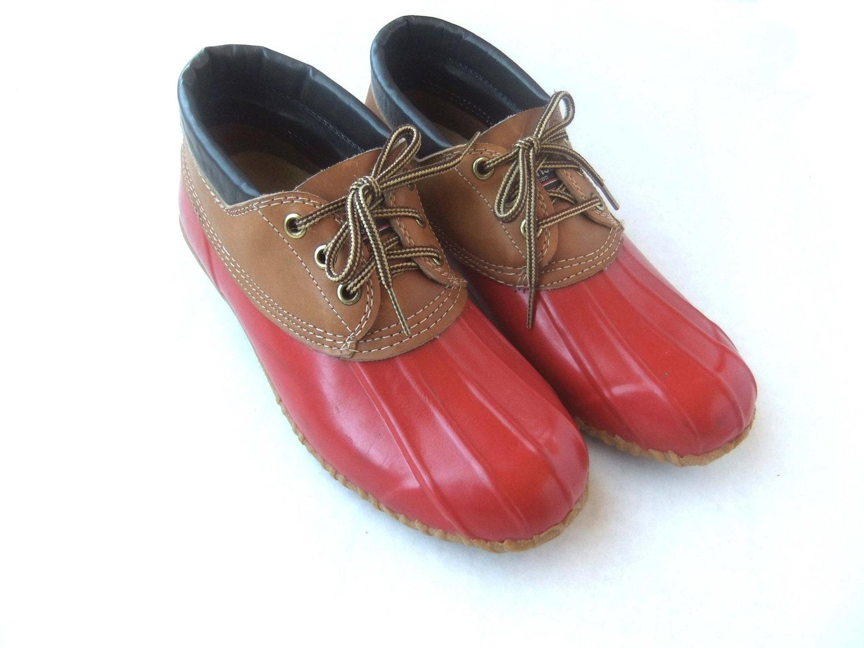 Beautiful Sporto Womens Winnie Duck Boots SBC Red/Black New With Box | EBay