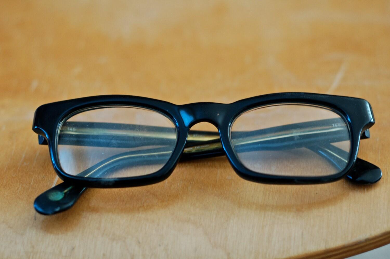 Vintage Black Marwitz Eyeglass Frames by lisa55 on Etsy