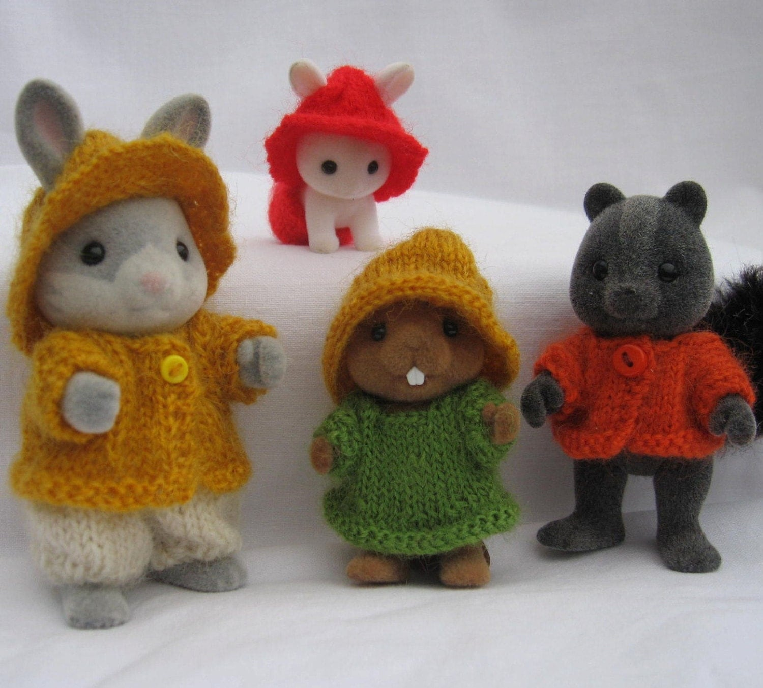 PDF RUSTIC Knitting Pattern for Collectors for Sylvanian Families Calico Critters