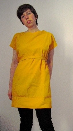 NEW COLLECTION //// yellow DRESS