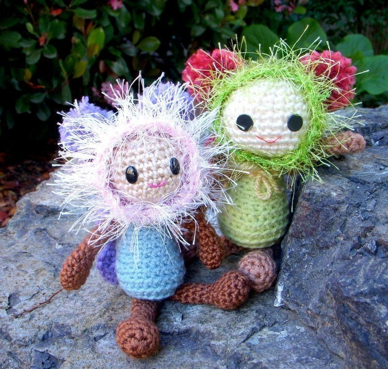 Amigurumi Fairy Free Pattern : Butterfly Fairy Crochet Amigurumi doll pattern / PDF by ...