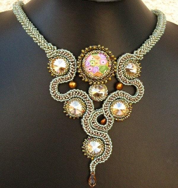 Rosario Deluge Necklace