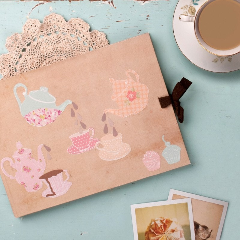 MINI Teatime - reusable fabric stickers for laptops, notebooks etc