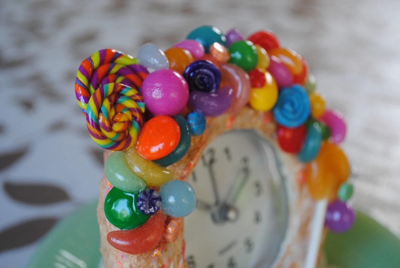 SWEETS DECO Donut Alarm Clock