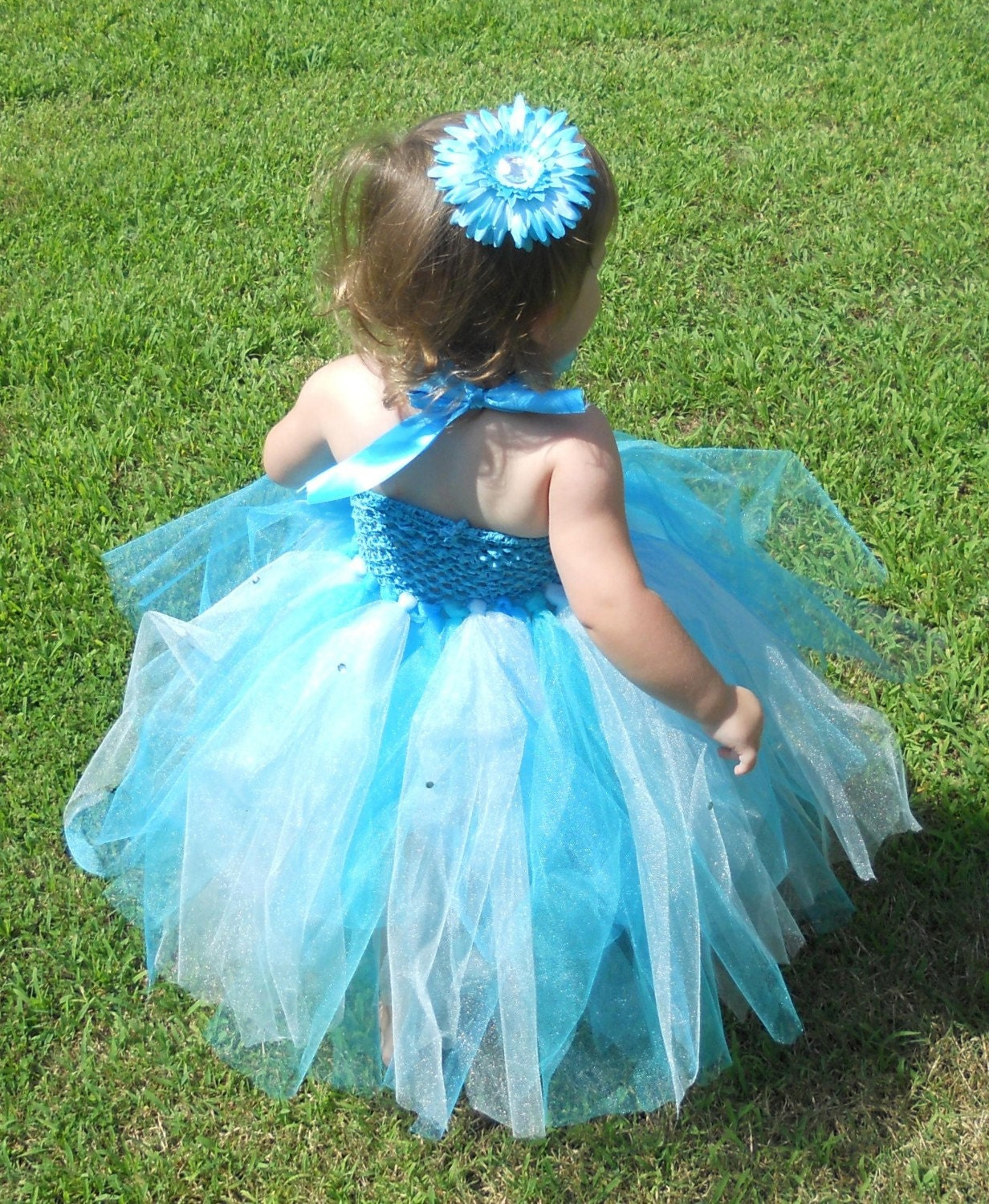 Under the Sea Butterfly Tutu Dress With Accessories