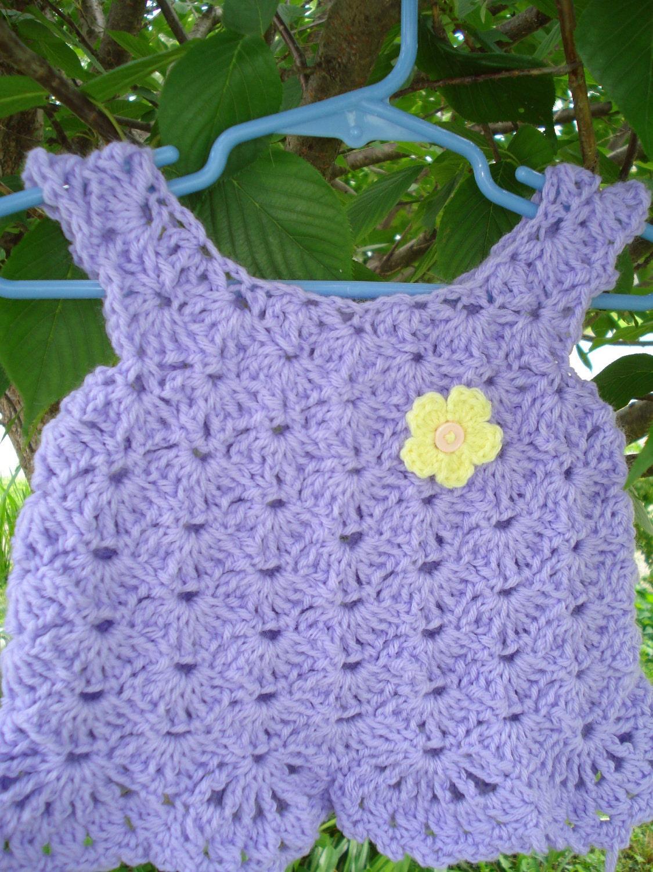 lacy lavendel h keln baby kleid top gr e 36 von misharulon. Black Bedroom Furniture Sets. Home Design Ideas