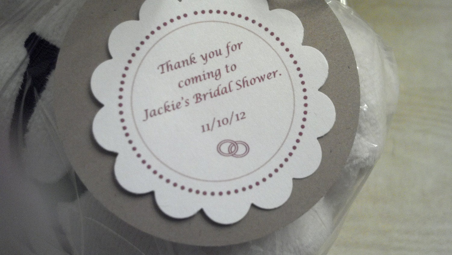 Wedding Favor Tags Sayings : Quotes For Wedding Shower Favors. QuotesGram