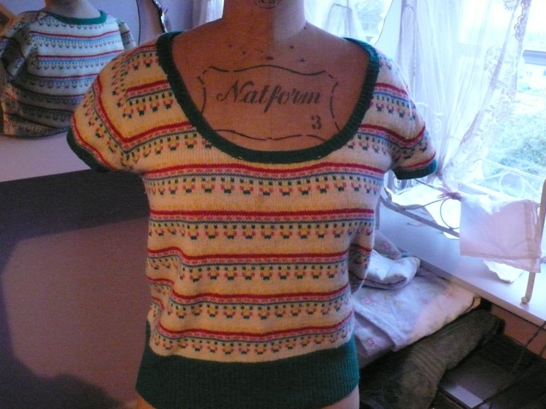 1970/s fairisle jumper
