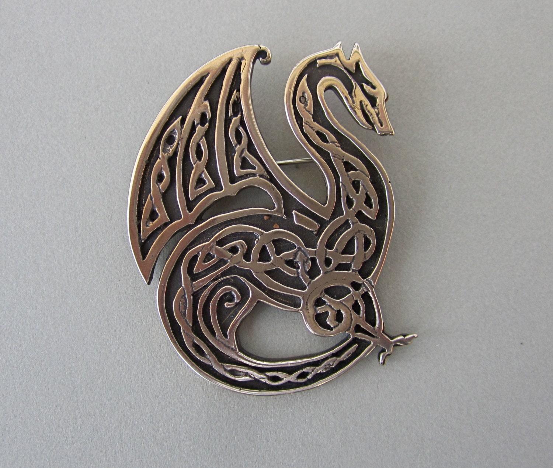 Celtic Knotwork Dragon By MasterArks On Etsy