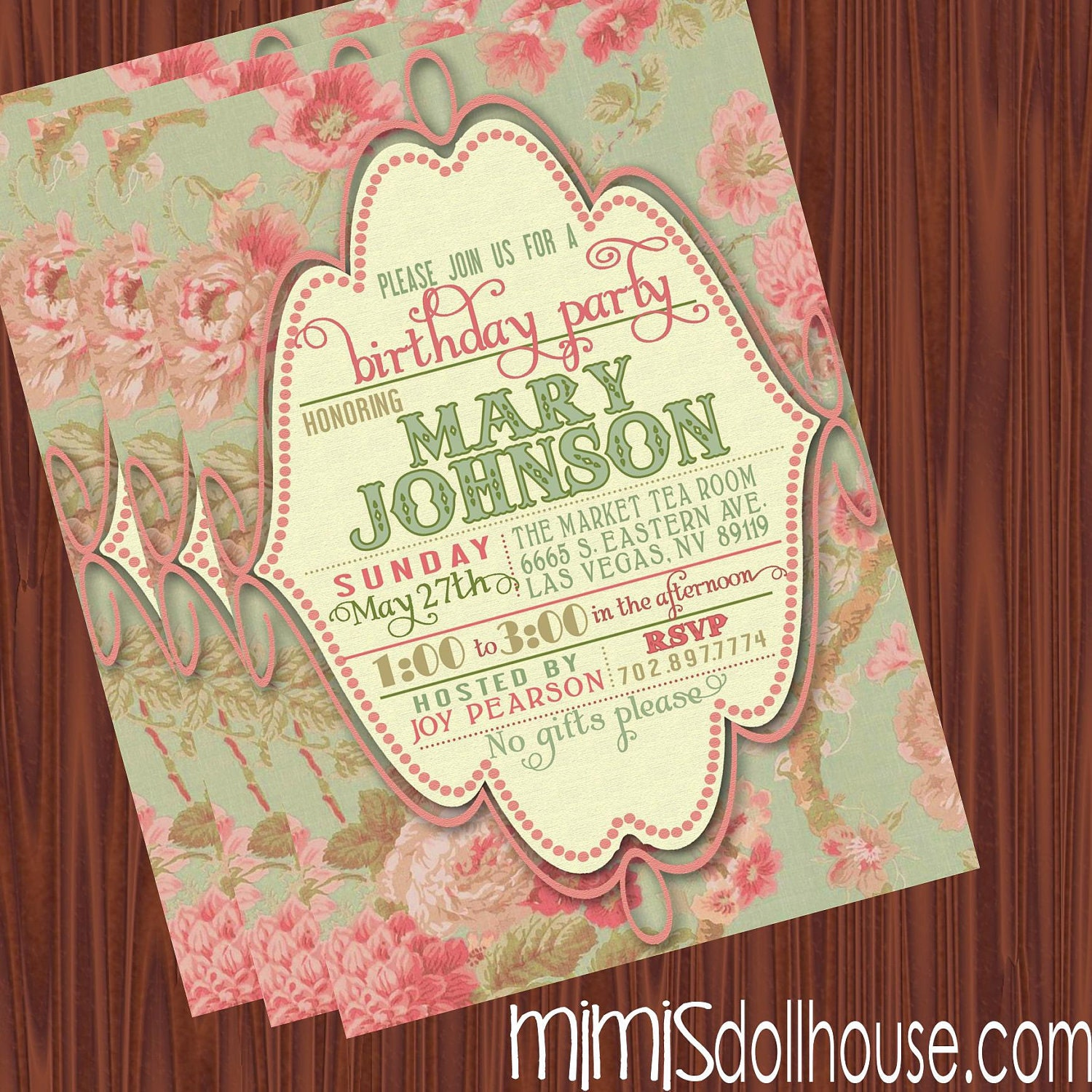 Vintage Birthday Invitations can inspire you to create best invitation template