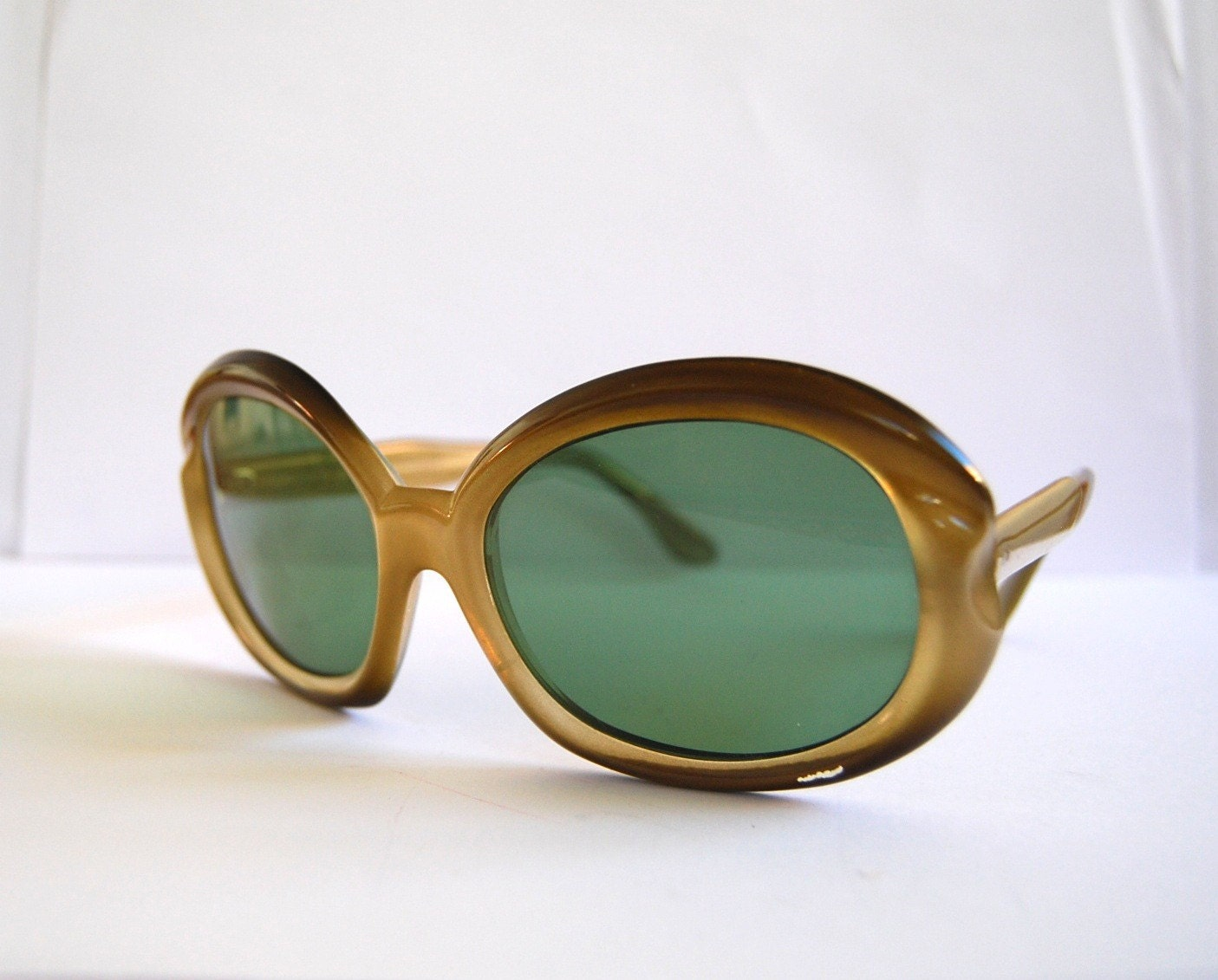 Vintage oversized sunglasses made in Germany by RetroEyewear from etsy.com