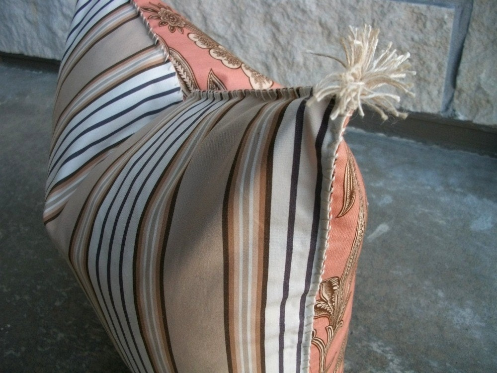 RAYURE Awning Stripe Pillow Cover