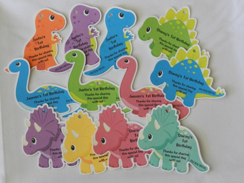 unique personalized dinosaur baby shower by partygamesandmore