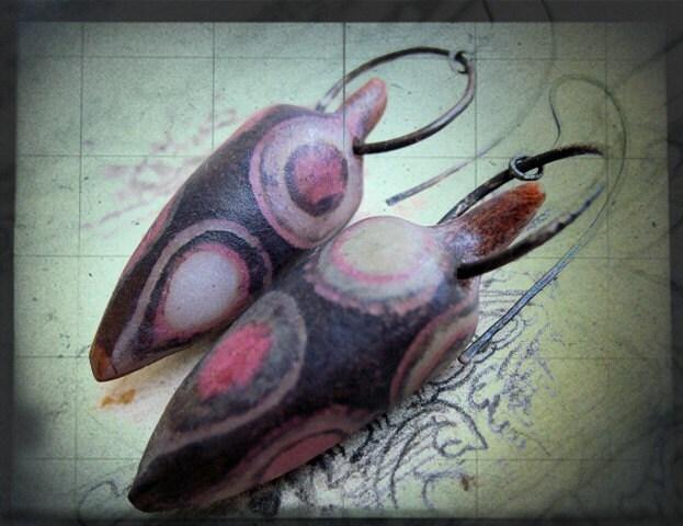 Exogenesis. Earrings.