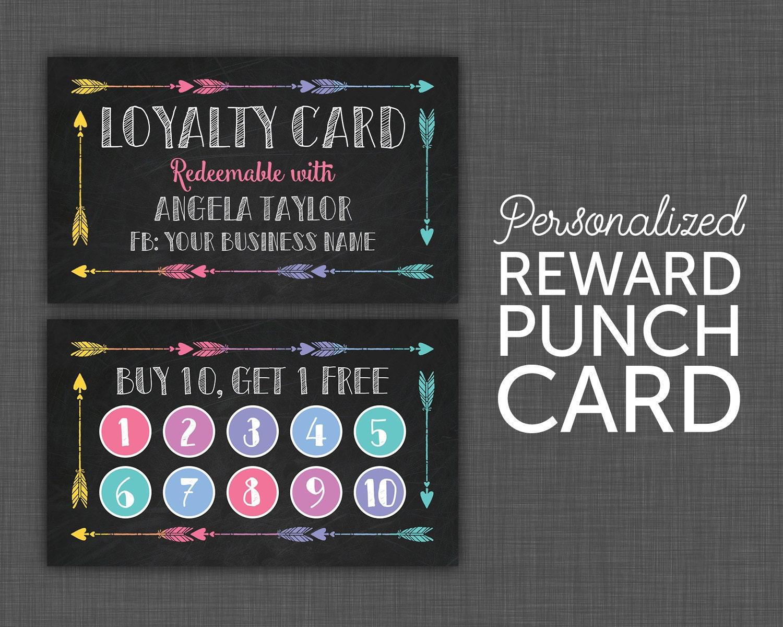 30 Printable Punch Reward Card Templates 101 Free - dinosauriens.info