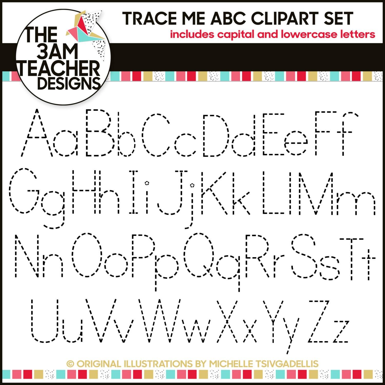 Printable Tracing Alphabet Letters A Z   April Calendar   April ...