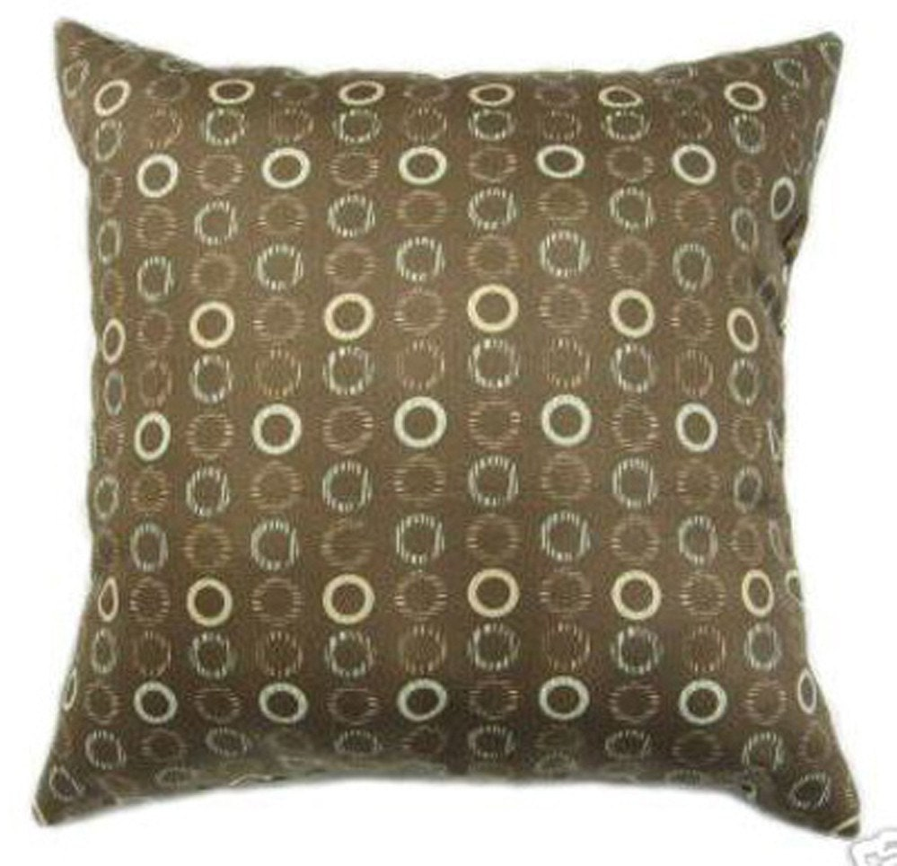 Throw Pillows In Clearance : CLEARANCE Brown Decorative Pillow Waverly by LandofPillowsDotCom