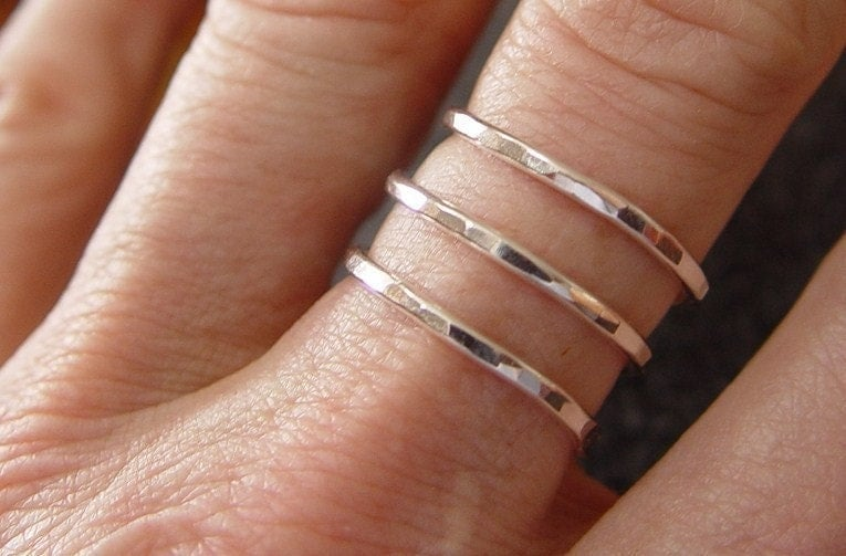 Sterling Silver Spiral Ring...By Fallingleafjewelry on Etsy