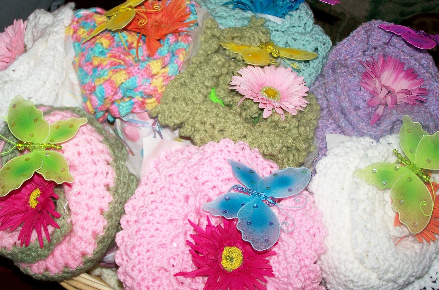 Baby Blanket Bouquets