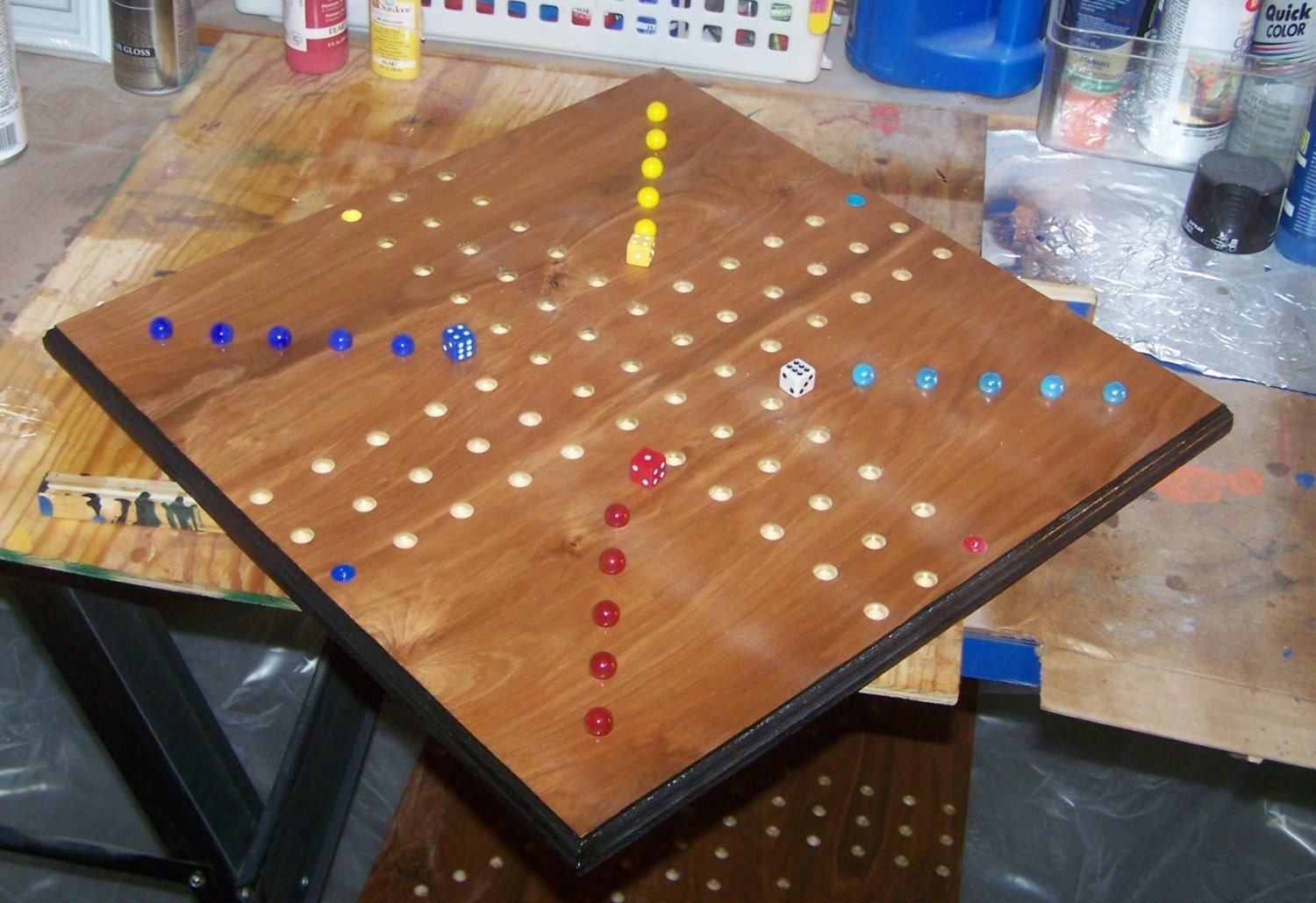New ludo game similar to aggravation games sign d by wooddesigner