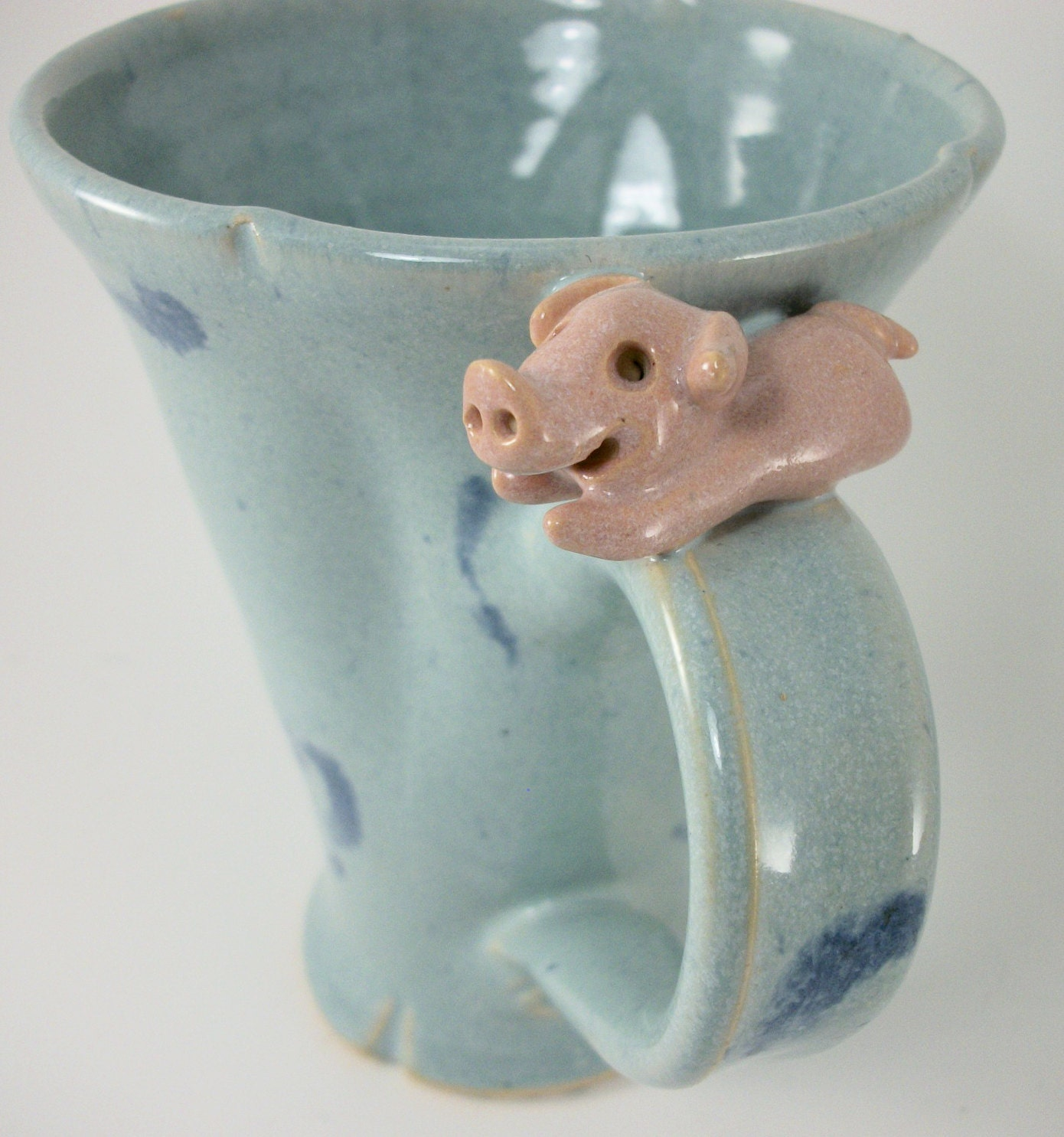 mug with  pig