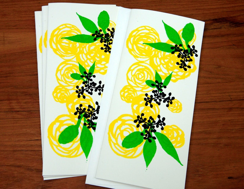SUNNY Floral Note Card Set - DeweyHoward