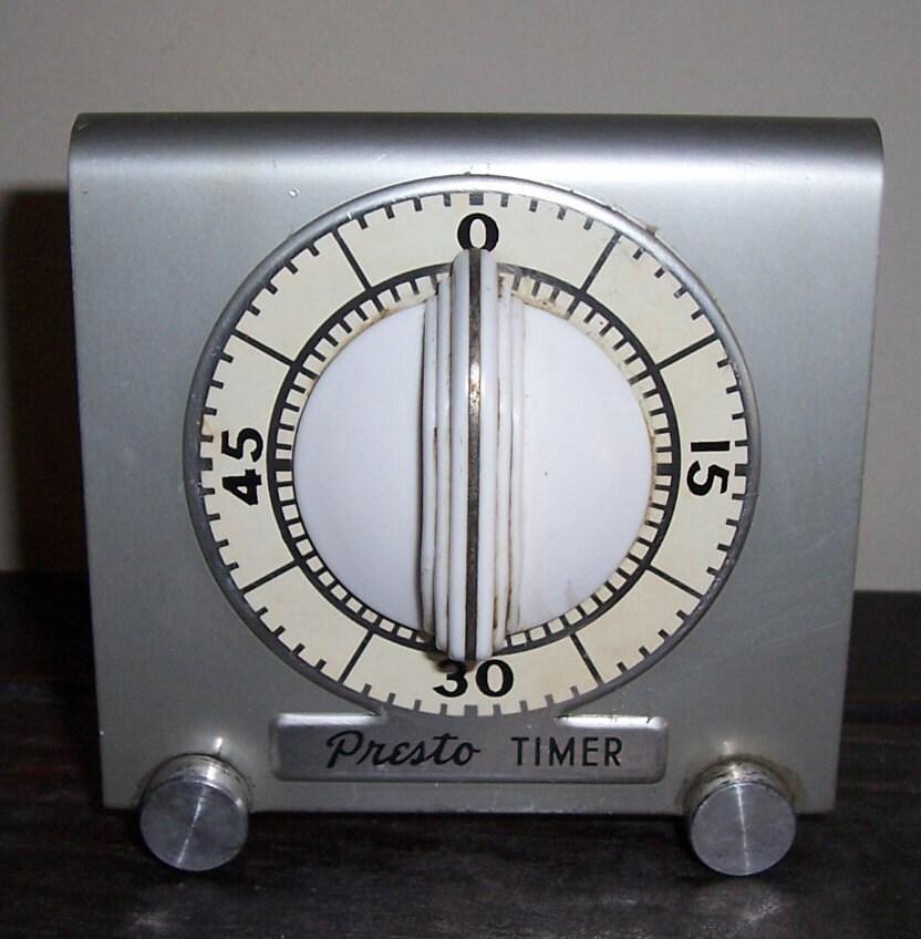 Vintage Presto Kitchen Timer By Vintagetea On Etsy