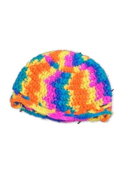 Multi- Colored Kids Hat size 18 months - amydscrochet