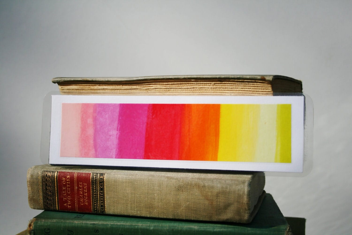 Color Scale Bookmark / Unique bookmark / page saver / Art bookmark